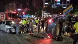 Elazığda otomobiller çarpıştı: 3 yaralı