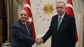 Erdoğan, Irak Dışişleri Bakanını kabul etti