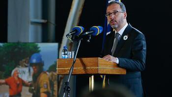 """""""Srebrenitsa'dan bugüne, hepimiz şehit aileleriyiz"""""""