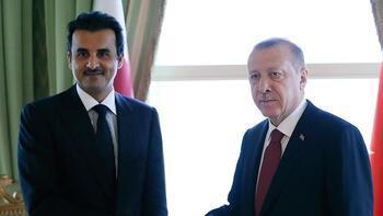 Katar Emiri Al Sani'den Cumhurbaşkanı Erdoğan'a 15 Temmuz tebriği