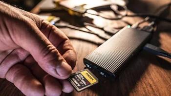 Dünyanın en hızlı SD kart okuyucusu satışa çıkıyor
