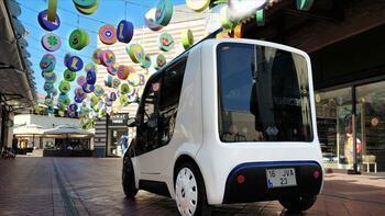 Elektrikli mini araç ECOMOD'un prototipi hazır