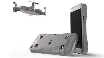 Akıllı telefon kılıfına gizli drone Selfly Türkiye'de