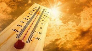 Sıcaklık uyarısı: 6'yla 10 derece artacak