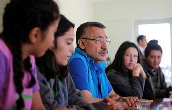 Fuat Oktay'dan gençlik kampı müjdesi