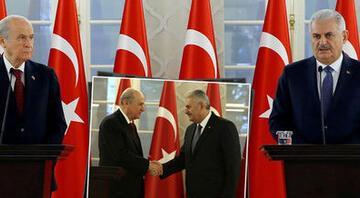 AK Parti-MHP bloğu  10 puan kaybetti