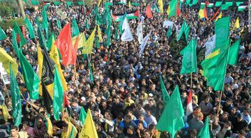 Hamastan İsrailin Suriyeye yönelik saldırısına kınama