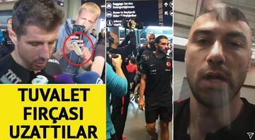Son dakika: İzlandada Milli Takıma pasaport işkencesi... Türkiyeden peş peşe açıklamalar