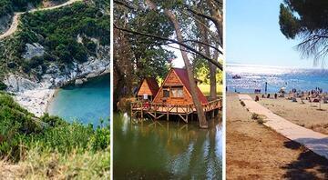 Hafta sonunun huzur adresleri İster 8 TLye denizin tadını çıkarın, ister ailece doğada keşfe çıkın...