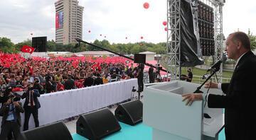 Ankara Emniyet Müdürlüğü yeni binası açılışında Cumhurbaşkanı Erdoğan'dan önemli mesajlar