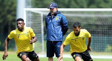 Sergen Yalçın, takımı Slovenya'da kontrollü oynatacak Avrupa Ligi rövanşı...
