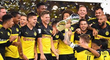 Almanyada Süper Kupanın sahibi Borussia Dortmund