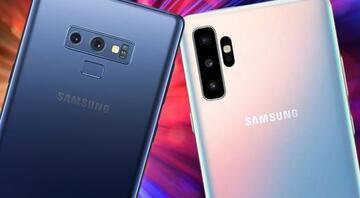 Samsung Galaxy Note 10 mu Galaxy Note 9 mu