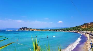Türkiyenin en sakin plajı Kalabalıktan uzak deniz keyfi...