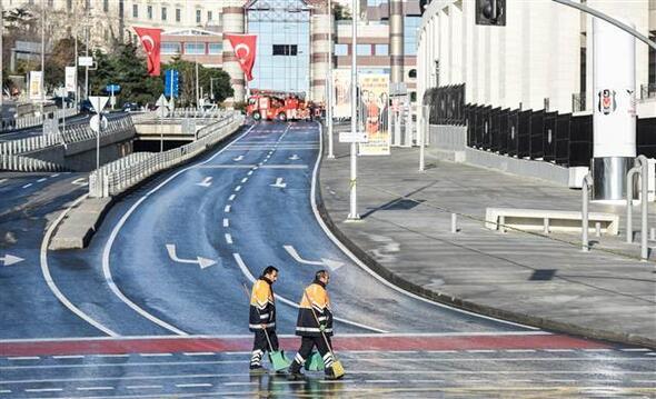 İstanbuldaki Beşiktaştaki alçak saldırıdan ilk fotoğraflar