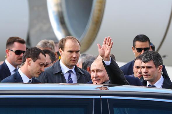 Rusya Devlet başkanı Putin Türkiyede