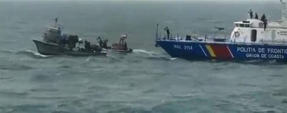 Türk balıkçı teknesine müdahalede yeni görüntüler ortaya çıktı