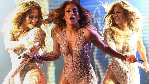 İşte Jennifer Lopez'in konserden kazandığı para