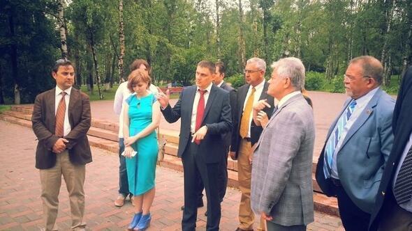 Başkan Acar Rusya'da