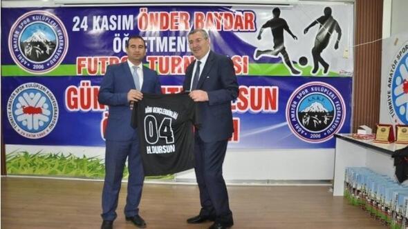 Ağrı'da 24 Kasım Futbol Turnuvası