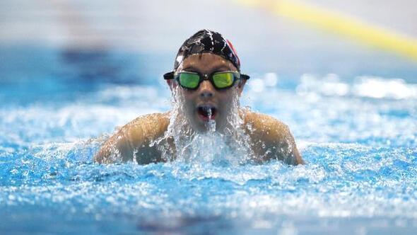 Down sendromlu Alperenin olimpiyat hayali