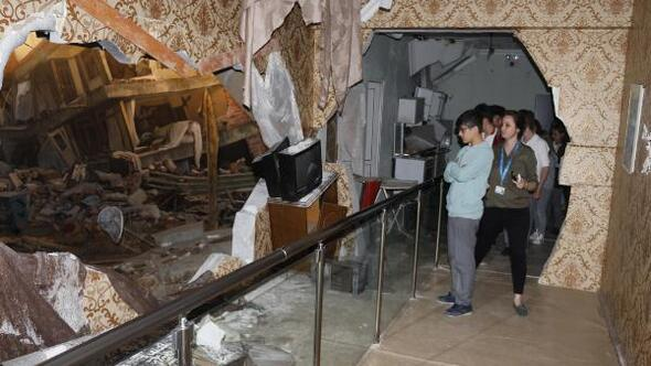 İzmitte depremi yaşatan müze