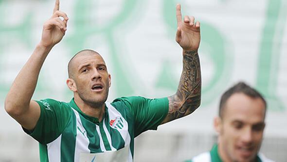 Bursasporda golcüler Fernandaoyu geçemedi