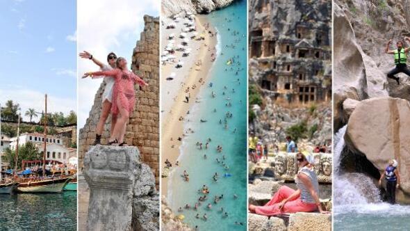 Bayramda Antalya rotaları