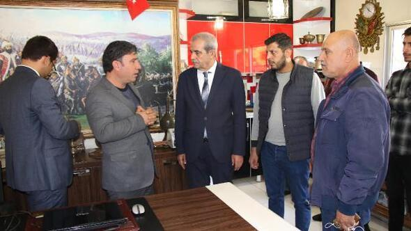 Başkan Demirkol, taksicilerle bir araya geldi