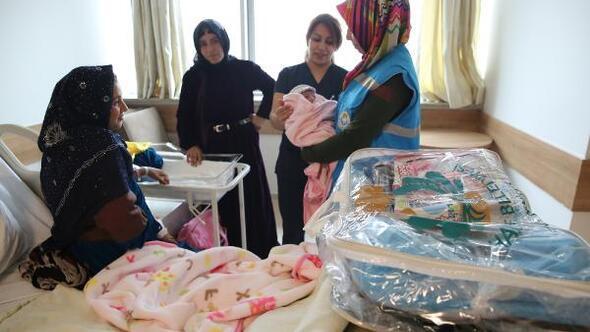 Haliliye Belediyesinden 22 bin bebeğe set