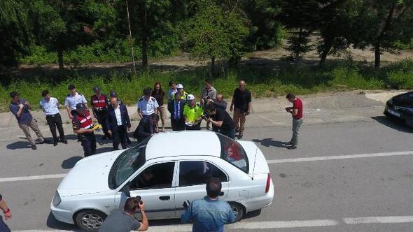 Sinopta, Vali Şakalar trafik denetimlerine katıldı