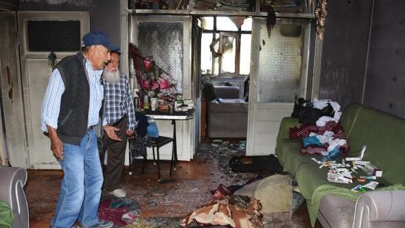 Zihinsel engelli, evde çıkan yangında öldü
