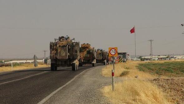 Suriyeye askeri sevkiyat