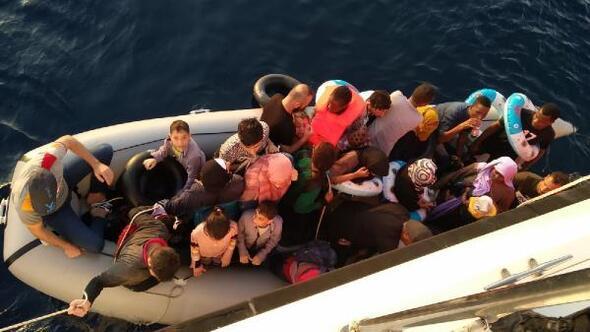 Didimde 73 kaçak göçmen yakalandı