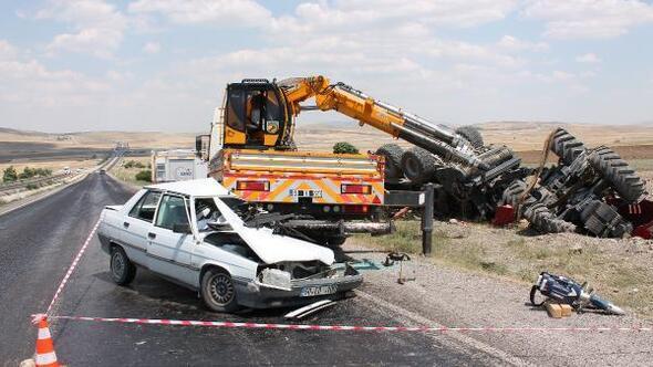 Vince çarpan, otomobil sürücüsü öldü