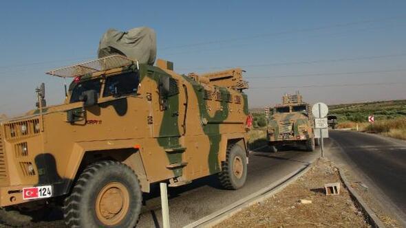 Suriyeye askeri sevkiyat sürüyor