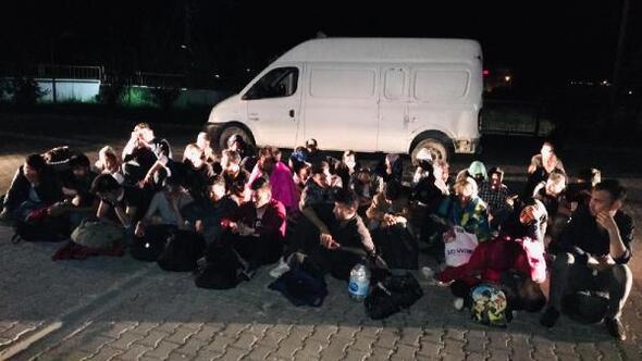 Çanakkale'de 91 kaçak yakalandı