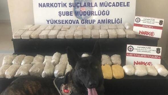 Hakkaride 29 kilo 320 gram uyuşturucu ele geçirildi