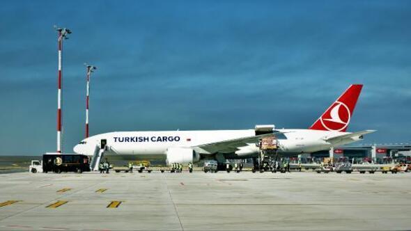 Turkish Cargo Mayıs ayında yüzde 7,1lik tonaj artırdı