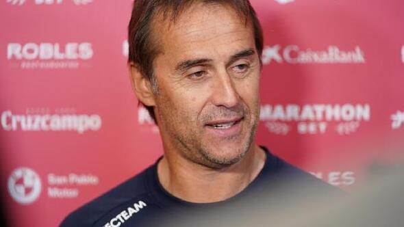 Sevilla Teknik Direktörü Lopeteguiden Fernando yorumu