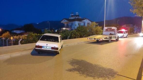 Drift yapıp polisin dur ihtarına uymayan alkollü sürücüye, 6 bin 247 TL ceza