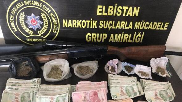 Kahramanmaraşta uyuşturucu operasyonu: 11 gözaltı