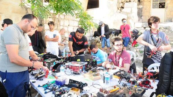 Türkiye Drone Şampiyonasının 3üncü etabı Kapadokyada başladı