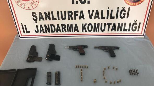 Şanlıurfada silah kaçakçılığı operasyonu: 1 gözaltı
