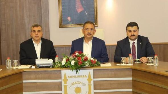 AK Parti Genel Başkan Yardımcısı Özhaseki Şanlıurfada