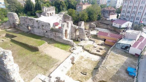 Sinoptaki kazıda 1500 yıllık kilise kalıntıları bulundu