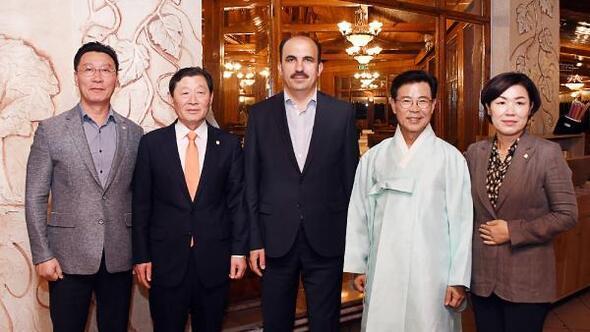 Konya Büyükşehir Belediye Başkanına Gangneung'dan ziyaret