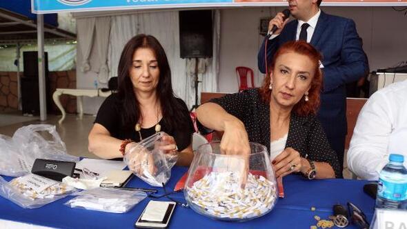 Zonguldakta TOKİ evleri, kurayla sahiplerini buldu