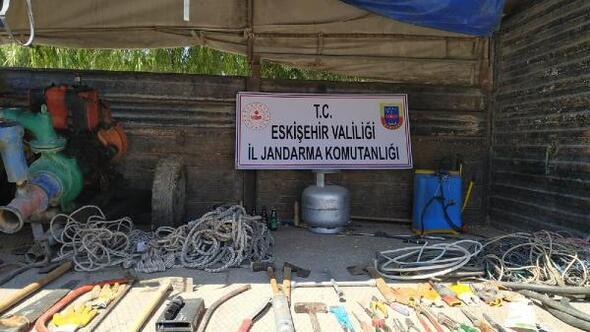 Eskişehir'de hırsızlık şüphelisi 5 kişi yakalandı