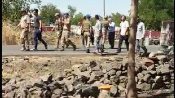 Kaçak elektrik denetiminde gerginlik; jandarma havaya ateş açtı